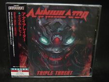 ANNIHILATOR Triple Threat JAPAN 2CD Vital Remains Canadian Thrash Metal !