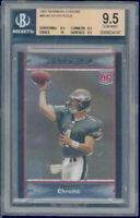2007 bowman chrome #60 KEVIN KOLB rookie BGS 9.5 9.5 10 9.5
