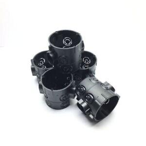 1-200 Unterputz Dosen Schalterdosen schwarz Gerätedose 61mm tief D=60mm F-Tronic
