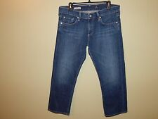 Adriano Goldschmied AG The Tomboy Crop Relaxed Straight Leg Boyfriend Jeans 31
