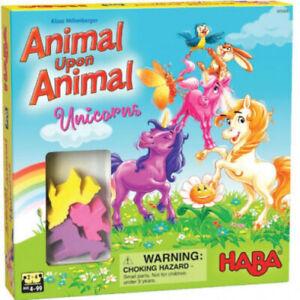 Haba Animal Upon Animal Unicorns Exclusive