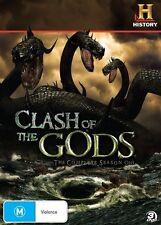 Clash Of The Gods  Season 1 (DVD, 2010, 3-Disc Set) Region 4