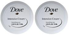2 Dove Intensive Cream Nourishing 2.53 FL.OZ