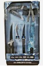 Mossy Oak 8pc Angler's Combo! Fillet Knife, 12-in-1 Tool, Folding Knife, Blades+