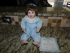 Ashton Drake's Angel Of Our Home Porcelain Doll 1998 Robin Miller Coa Toys104