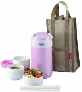Tiger LWR-A092 Thermal Lunch Box, Pink