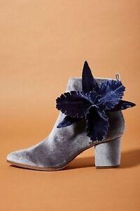 Cecelia New York Mirah Velvet Orchid Boots-7
