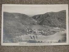 View from Mt. Abenaki, showing the Balsams, Lake Cloriette & Dixville Notch