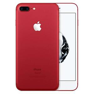 Apple iPhone 7 Plus 32GB 128GB 256GB Red Unlocked GSM/CDMA/LTE Grades A/B/C