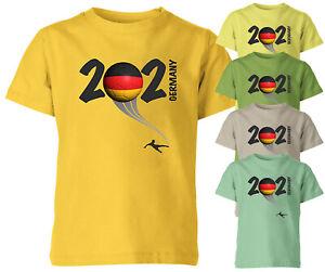 Germany 2021 Football Kids T Shirt Boys Soccer Training Jersey Sports Tee Top