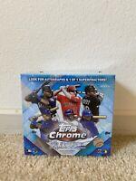 BRAND NEW TOPPS MLB CHROME 2020 UPDATE BASEBALL SAPPHIRE TRADING CARD BOX