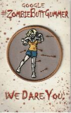 SDCC 2015 Exclusive Scouts Guide to Zombie Apocalypse Zombie Butt Gummer Patch B