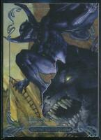 2018 Marvel Masterpieces Trading Card #73 Black Panther /999