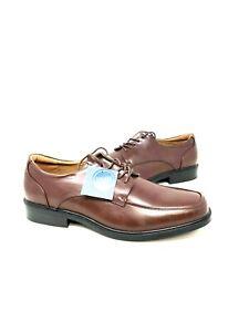 NEW! Croft & Barrow Men's Craven Ortholite Oxford Dress Shoes Brown 208A