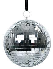 Spiegelkugel-Spiegelball-Discokugel 20cm mit echten Glasspiegel