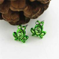 Women Cartoon Cute Little Frog Ear Studs Stud Earrings Fashion Jewelry Gift