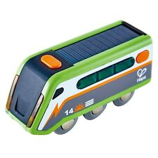 Hape E3760 Solar Powered Light Up Moteur-en Bois Train Track Accessoires