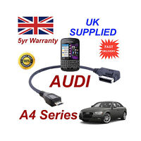 AUDI A4 Series 4F0051510M Cable For BLACKBERRY Q10 MICRO USB Audio connection