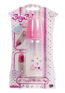Babyboo Magic Dolls Milk Bottle My Baby Doll Feeding Accessories Formula Drink