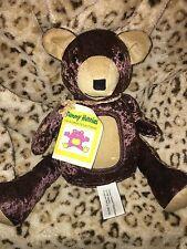 CHLD BIRTHDAY GIFT TUMMY HUNNIES TEDDY BEAR PLUSH JOINTED LIMBS PHOTO FRAME NEW