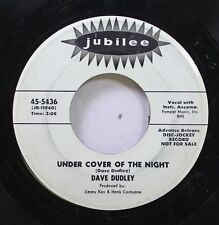 50'S & 60'S 45 Dave Duley - Under Cover Of The Night / Please Let Me Prove (My L