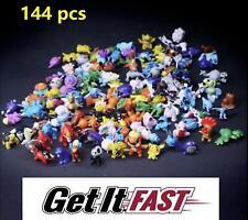 Pokemon Pikachu Monster PVC Mini Figures Toys PARTY gifts cake KID FUN TOYS