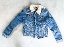 Traumhafte gefütterte Kinder Jeans Jacke von PEPE Portobello Gr. S  - NEU !
