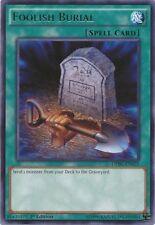 FOOLISH BURIAL - (DPBC-EN025) - Rare - 1st - Yu-Gi-Oh Duelist Pack Battle City