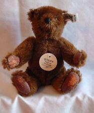 Steiff - Margaret Strong Chocolate Mohair Teddy - #0160/18 - from 1983