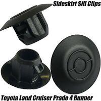 10 Toyota Land Cruiser Prado 4 Runner Sideskirt Sill Moulding Plastic 12mm Clips