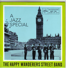 """7"" - THE HAPPY WANDERERS STREET BAND - A Jazz Special - EP - RAR !!!"
