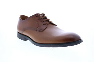 Clarks Ronnie Walk 26148027 Mens Brown Oxfords & Lace Ups Plain Toe Shoes