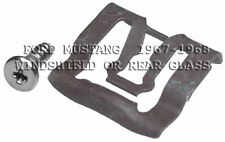FITS FORD MUSTANG 67-68 WINDSHIELD  OR REAR GLASS REVEAL MLDG CLIPS 20
