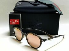 Authentic RAY-BAN RB4237 894/Z2 Round LiteForce Tortoise/Pink Mirror Lens 50mm
