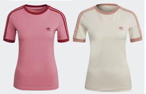 Adidas 3 stripe ADICOLOR CLASSICS COLLEGIATE TIGHT T-SHIRT Pink Ivory