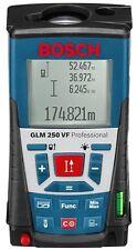 Nuevo Bosch GLM 250 vf telémetro láser Pro 0601072170 3165140547994