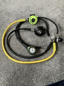 Apeks ATX40 Regulator Set With Octopus And Console scuba diving 1st 2nd stage