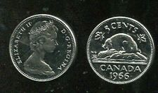 CANADA , KM 60.1  5 Cents 1966  Proof Like