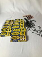 Vintage Hallo Hair Pins Huge Vintage Lot , Small & Large Bobby Pin Barette