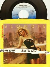 Blondie The Tide Is High B/W Suzy and Jeffrey 45 Rpm & Picture Sleeve 1980 Cool
