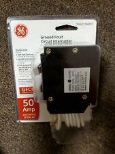 GE 50A 2-Pole GFCI Circuit Breaker with Self-Test - THQL2150GFTP