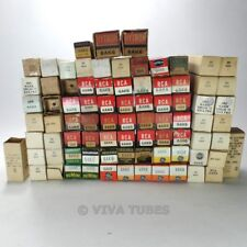 Lot of Type 6AK6 - 88 Untested, Vintage, Boxed/Loose Vacuum Tubes