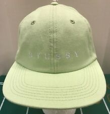 cf023f13 Stussy Men OSFA SpellOut Logo Baseball Ball Cap Hat StrapBack Mint Light  Green