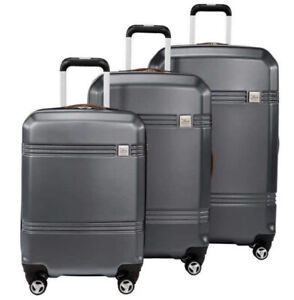 Skyway Columbia Crest 3-piece Hardside Spinner Set in Gray