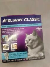 New listing Feliway Classic 30 Day Starter Kit Plug In Diffuser & Refill 48 ml Exp 12/2021