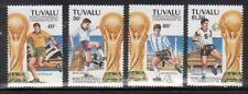 Tuvalu 666-69 World Cup Soccer Mint NH
