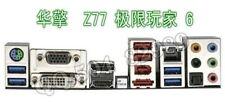 ASRock io shield blende backplate Z77 EXTREME6