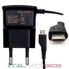 CARICABATTERIA DA RETE PER LG OPTIMUS L3 E400 E405 MICRO USB VIAGGIO CHARGER AC