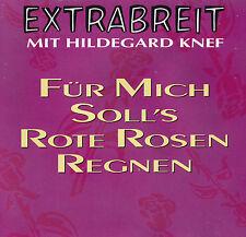 EXTRABREIT mit HILDEGARD KNEF - MAXI-CD - Für mich soll's rote Rosen regnen