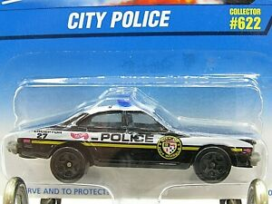 HOT WHEELS VHTF BLUE CARD SERIES CITY POLICE BUICK REGAL #622